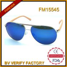 Gafas de sol populares Metal caliente venta de nuevo modelo de marcos