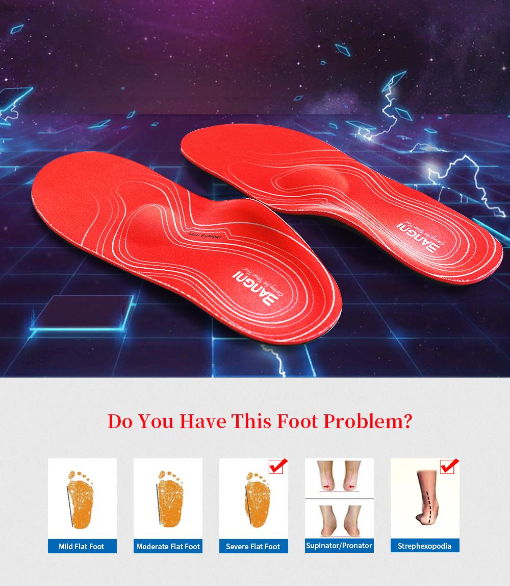 Severe Flat feet insoles