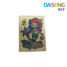 Customized sand drawing cards for kids