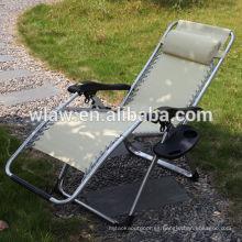 Silla de playa plegable chaise lounge
