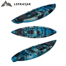 2021 New Design EU Market Popular Good Price Wholesale 1 Person Single Seat Sit on fishing kayak with accessories