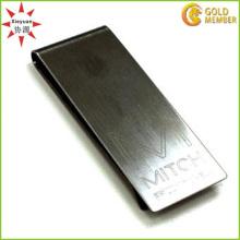 Billig Großhandel Blank Metall Geld Clip mit Customized Logo
