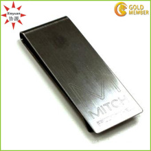 Cheap Wholesale Blank Metal Money Clip with Customized Logo