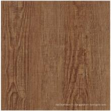 Chine Le meilleur plancher en bois de tuile de PVC de matériau de construction