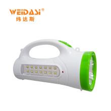 Lâmpada de pesquisa de LED ao ar livre, luz de mão WD-512 Luz de caça de aventura