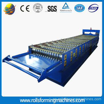 Corrugated Iron Roof Sheet Making Machine / Metal Roof Tile Making Machine