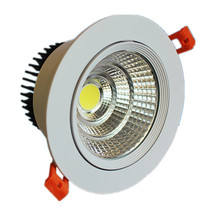 COB Não Dimmable LED Ceiling Commercial Downlight
