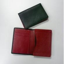 Sujetador de tarjeta de cuero suave, titular de la tarjeta de crédito, titular de la tarjeta de visita