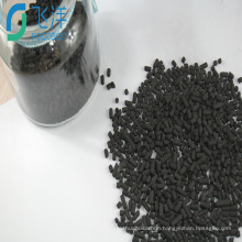 Activated carbon bulk for variable-pressure adsorption
