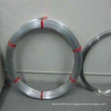 Fio oval galvanizado mergulhado quente