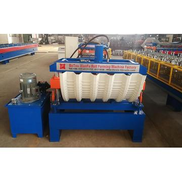 Galvanized Steel Trapezoid Sheet Arch Machine