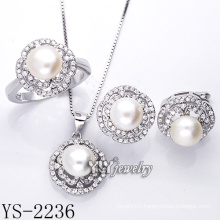 Fashion Silver Jewelry Pearl Set /925 Silver (YS-2236)