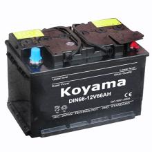 Geringere Wartungsstartbatterie DIN66-12V66ah