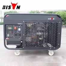 BISON Китай 8KVA 8kw медные провода переменного тока однофазные дизельные генераторы в Карачи