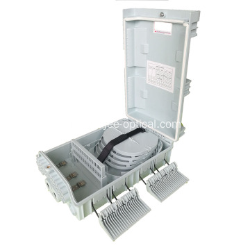 24 fibers, 3 X 1:8 Splitters Outdoor Optic Distribution Box