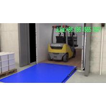 Almacén de contenedores usado carga descarga equipos fijo muelle rampa nivelador con CE