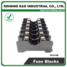 FS-016B Tornillo del conector de la CC con el alambre Bases del fusible del voltaje bajo