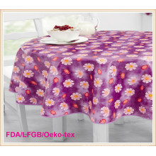 Cheap PVC Printed Tablecloth in Roll for Wholesale Factory
