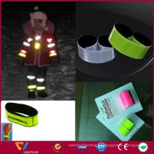 dongguan hohe sichtbare förderung glühen im dunklen armbänder für veranstaltungen