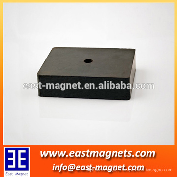 Sintered Hard Ferrite Magnet made in chain/used in permanent magnetic motors and speakers/China supplier