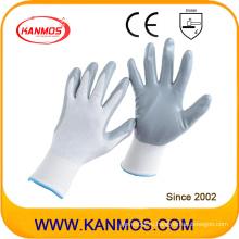 13gauges Nylon трикотажные нитриловые трикотажные изделия с покрытием из перчаток промышленной безопасности (53201NL)