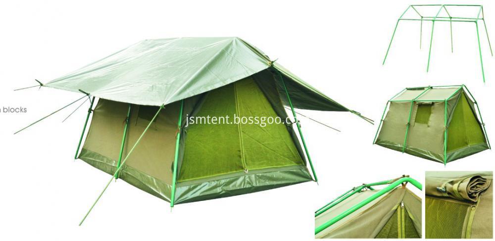 Aluminum Pole Material Unhcr Relief Tent