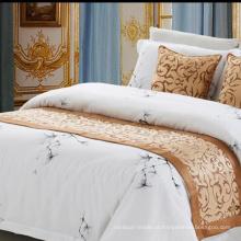 Tecido de poliéster 100% Hotel Bed Runner