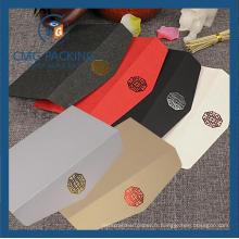 Enveloppe Paper Business pour l'emballage cadeau avec le logo Foiled Wjl-En021