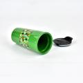 High quality coffee ceramic custom souvenir mug with plastic cap