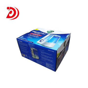 Humidifier auto lock bottom box