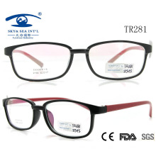 2015 Slim Fashion Beautiful Cheapest Tr90 Optical Frame (TR281)