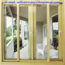 Индивидуальные распашные алюминиевые раздвижные двери, компания Шаньдун