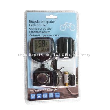 Speedo de vélo sans fil avec écran LCD (ZT18008)