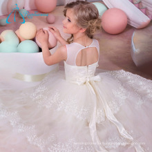 Scoop Sleeveless Ball Gown Bridesmaid Children Dresses