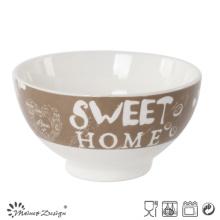 Precio barato al por mayor del cuenco de cerámica 13.5cm