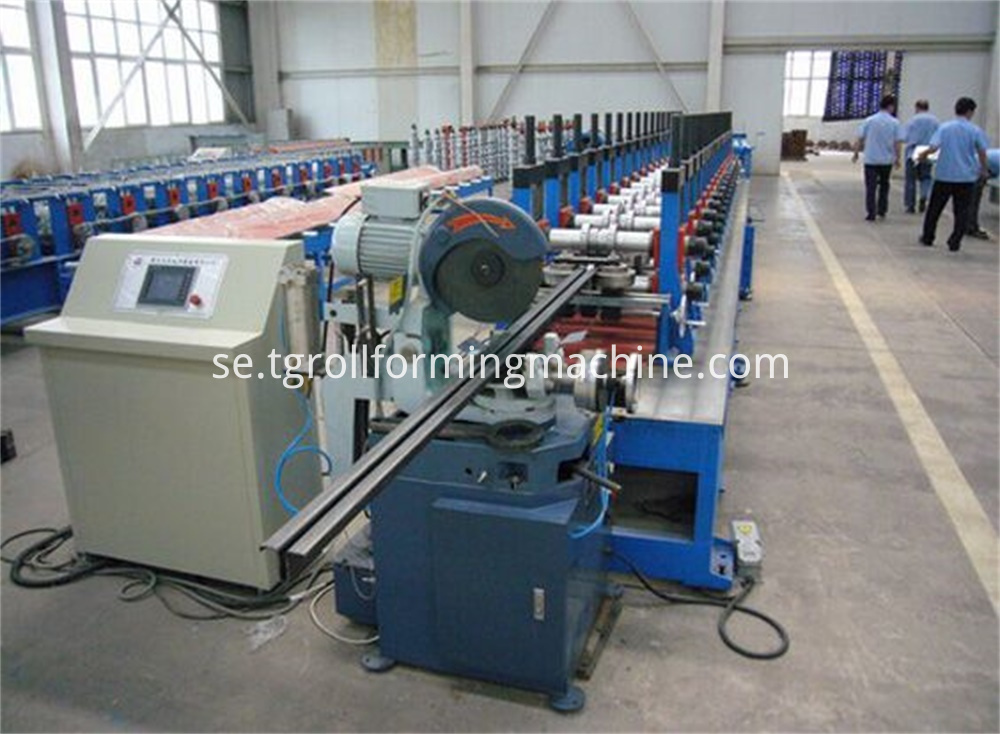 Elevator Guide Rail Forming Machine