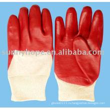 Перчатки из ПВХ для тяжелых условий работы