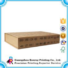 Custom Personalized Fake Cardboard Book Shape Gift Box Image