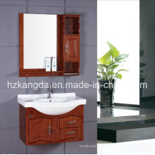 Cabinet de salle de bain en bois massif / vanité de salle de bain en bois massif (KD-442)
