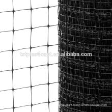 black Hot sale polypropylene UV deer poultry fence netting mesh export to USA
