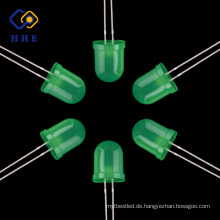 Top Qualität Grün 10mm Runde Diffused LED Diode LED Leuchtdioden