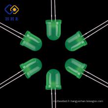 Diodes électroluminescentes diodes électroluminescentes diodes électroluminescentes rondes de la diode LED de qualité supérieure de 10mm