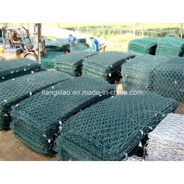High Quality PVC Coated Galvanized Hexagonal Gabion Wire Mesh Box Prices (HPZS6002)