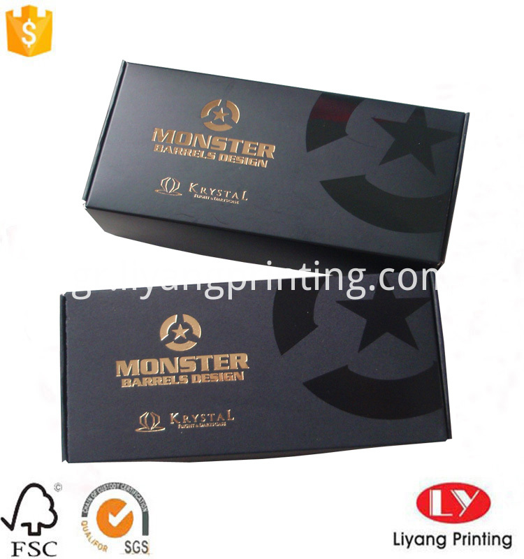 printed corrugated paper box