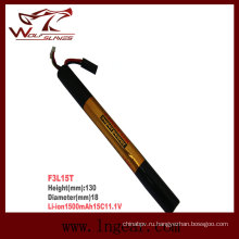 Военная Firefox-1500 11.1V-15 c Li-Po батарея Li-Polymer Stick