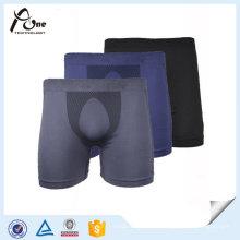Nylon Spandex Mens Body Underwear Boxers Shorts