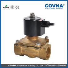1 pulgada de latón N / CN / O agua Fuente Electroválvula 24VAC