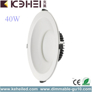 Blanco 10 pulgadas LED Downlights 40W Luces
