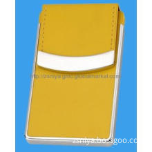 Colors Leather Name Card Holder