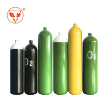 ISO CE 40l oxygen cylinder medical gas bottle